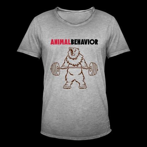 Animal behavior color oben - Männer Vintage T-Shirt