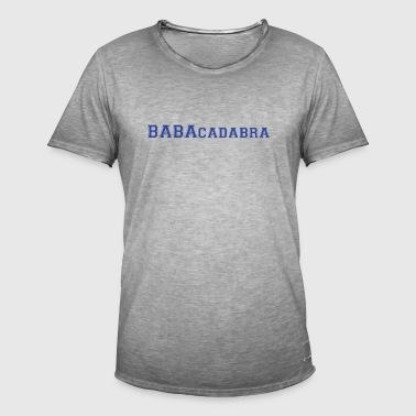 Tshirt TPMP Cyril Hanouna - BABAcadabra - Koszulka męska vintage