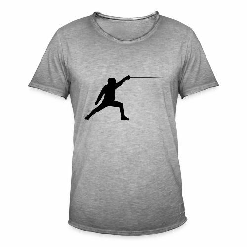 Fencer - Männer Vintage T-Shirt