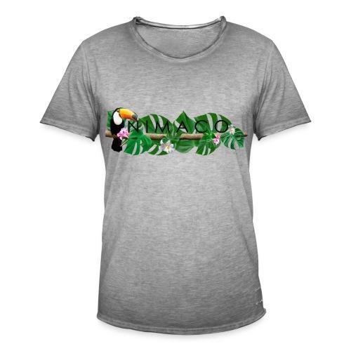 NIMACO Tukan - Männer Vintage T-Shirt