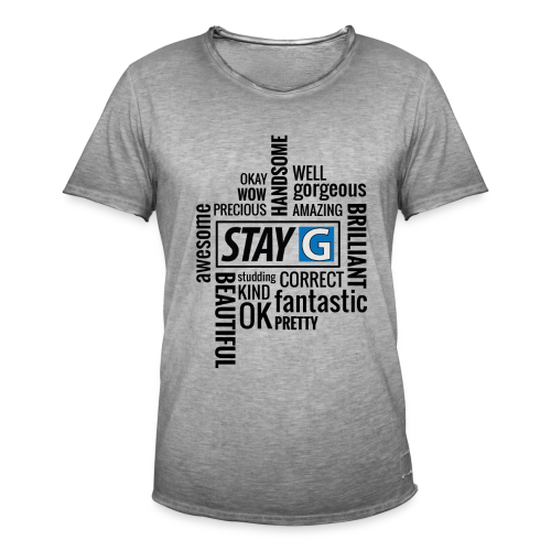 StayG One - Männer Vintage T-Shirt