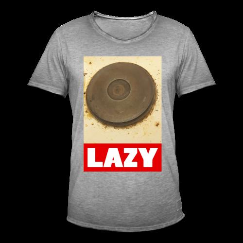 Lazy - Miesten vintage t-paita