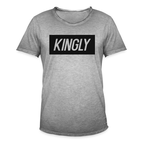 Kingly Basic Motive - Men's Vintage T-Shirt
