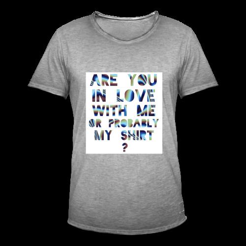 RU in LUV - Men's Vintage T-Shirt