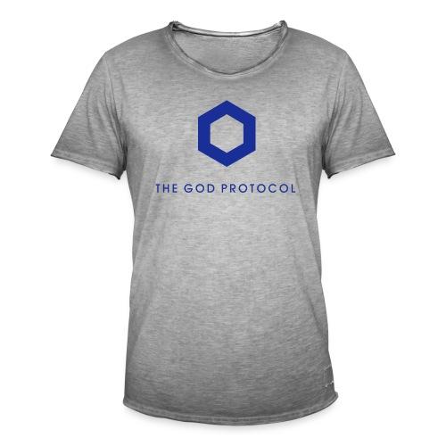 Chainlink - The God Protocol - Vintage-T-shirt herr