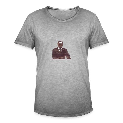 AkDefend Putin - Maglietta vintage da uomo