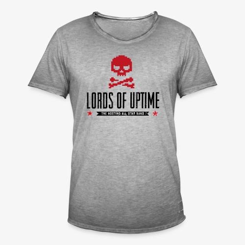 Lords of Uptime black - Männer Vintage T-Shirt
