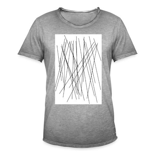 LINES - Männer Vintage T-Shirt