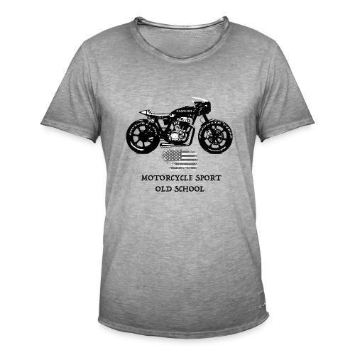 Gasoline - Maglietta vintage da uomo