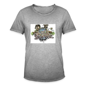 Mainbattle mind21 - Männer Vintage T-Shirt