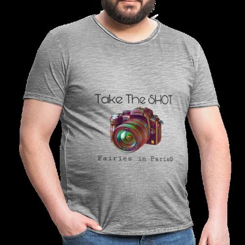 Fairies in Paris © - Take the SHOT - Männer Vintage T-Shirt