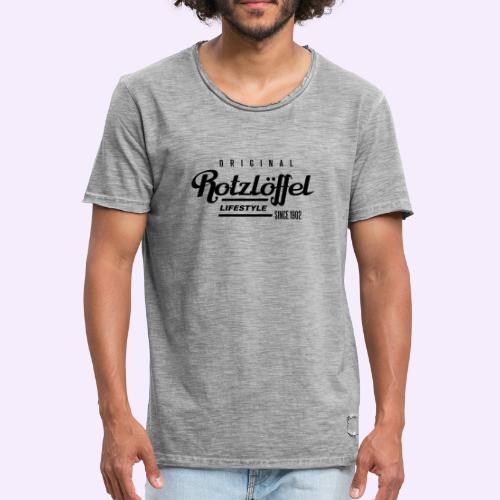 Rotz-L - Männer Vintage T-Shirt