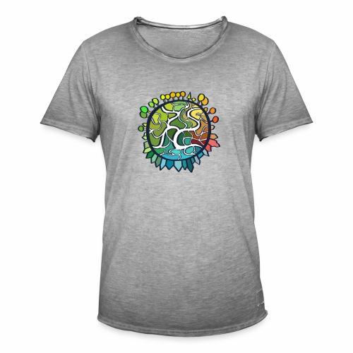 World - Mannen Vintage T-shirt