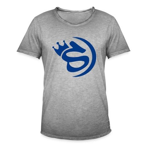S blau - Männer Vintage T-Shirt