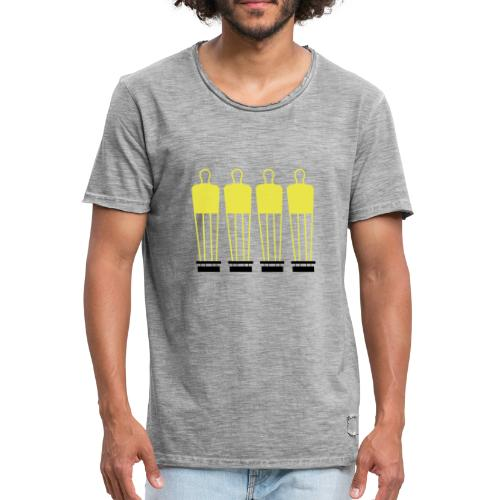 Free Kick Wall - Men's Vintage T-Shirt