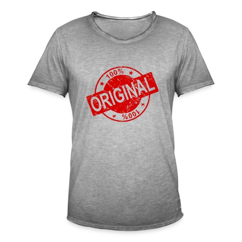 100 percent original - Men's Vintage T-Shirt