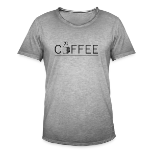 Coffee - T-shirt vintage Homme