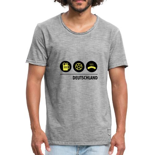 Circles - Germany - Men's Vintage T-Shirt