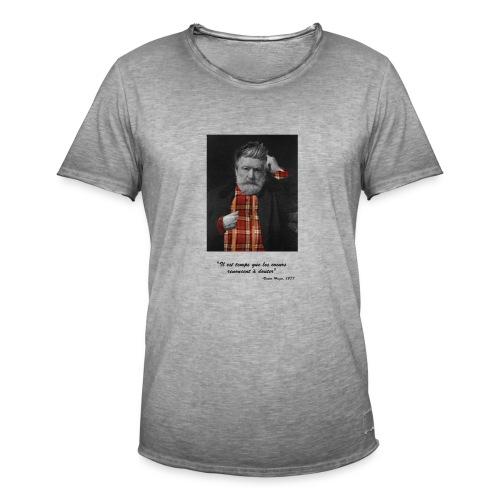 Victor Hugo Hipster - T-shirt vintage Homme