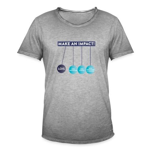 LOIS T-shirts Cohort 2018/2019 - Männer Vintage T-Shirt