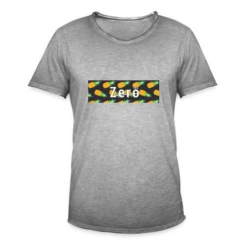 Ananasexpress - Männer Vintage T-Shirt