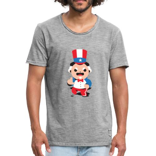 Oncle S - T-shirt vintage Homme