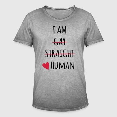 I am Human - Men's Vintage T-Shirt