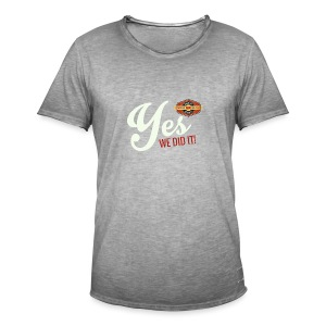 YES-nappo_wh - Männer Vintage T-Shirt