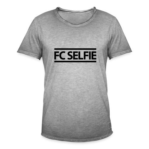 FCSELFIE Logo-Print - Männer Vintage T-Shirt