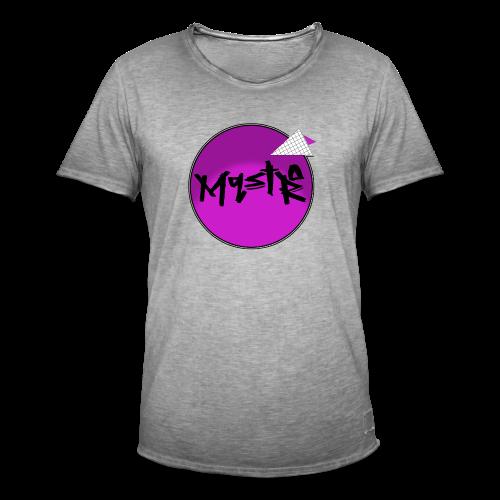 Mqstro - Männer Vintage T-Shirt