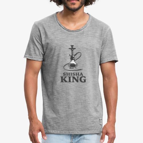 SHISHA KING T shirt - Männer Vintage T-Shirt