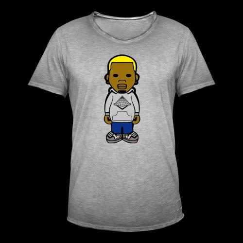 Chris Brown Breezy Tee - Männer Vintage T-Shirt