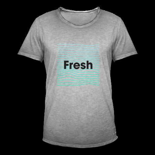 Fresh - noir - T-shirt vintage Homme