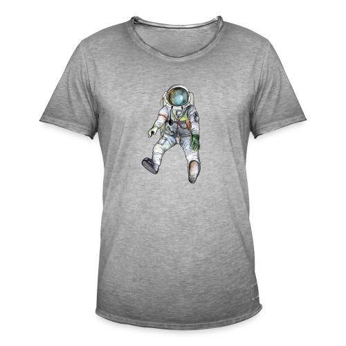 Astronaut Shirt - Männer Vintage T-Shirt