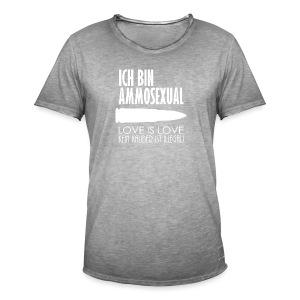 Ammosexual (weiß) - Männer Vintage T-Shirt