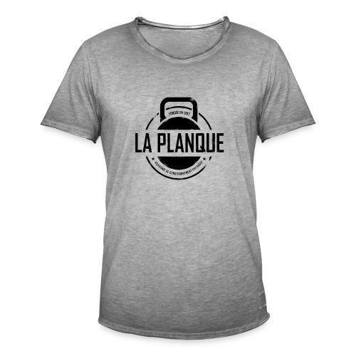 la_planque noir - T-shirt vintage Homme