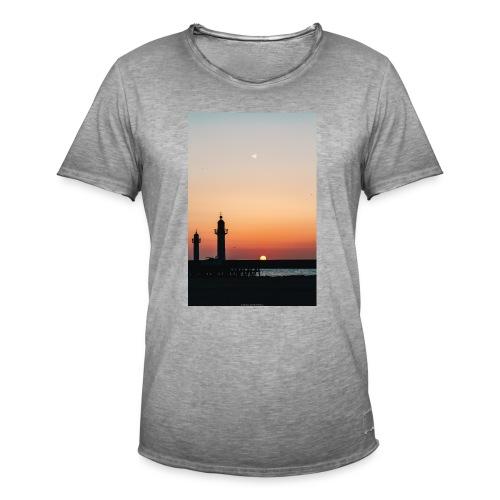 sunset - T-shirt vintage Homme