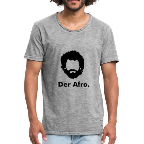 Der Afro - Men's Vintage T-Shirt