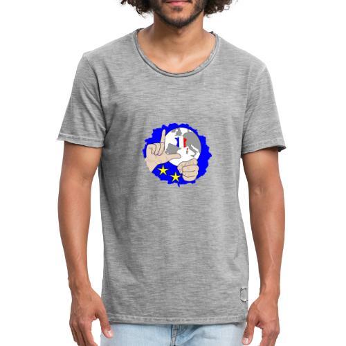 bleus mondial France 2018 champion danse du loser - T-shirt vintage Homme