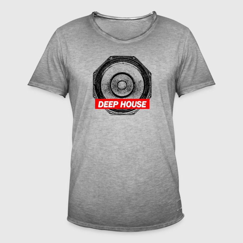 TECHNO Tee - Deep House Basse Box Streetwear - T-shirt vintage Homme
