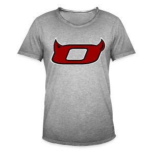 The Inferno O - Men's Vintage T-Shirt