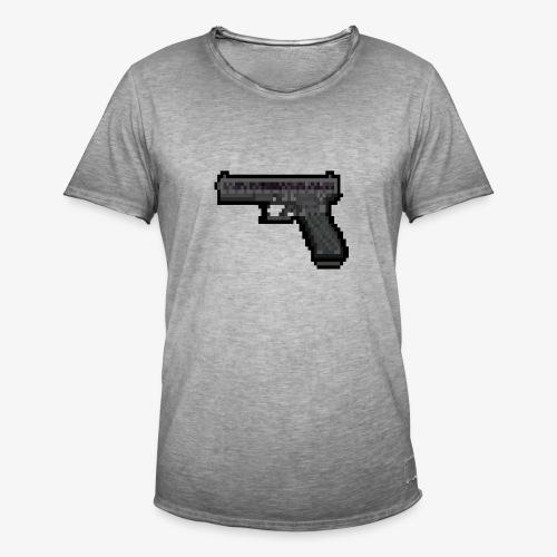 GLOCK PixelArt - T-shirt vintage Homme