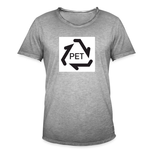 PET Merch - Männer Vintage T-Shirt