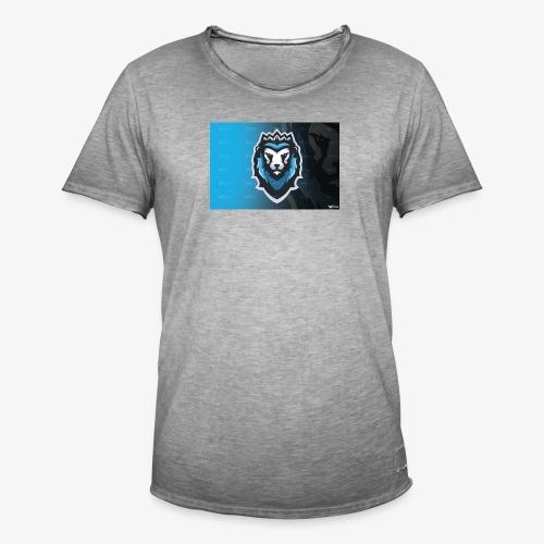 King Sky Lion - Männer Vintage T-Shirt