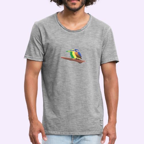 Eisvogel - Männer Vintage T-Shirt