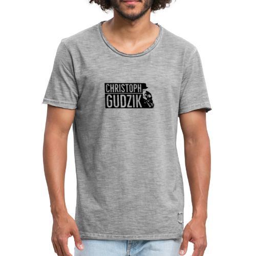 Chridtoph Gudzik BEI DIR PROMO - Männer Vintage T-Shirt