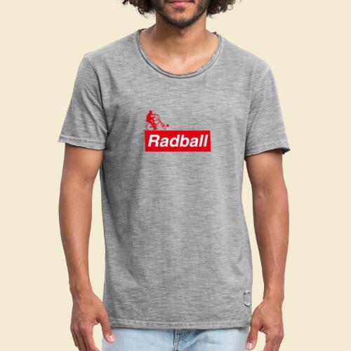 Radball | Red - Männer Vintage T-Shirt