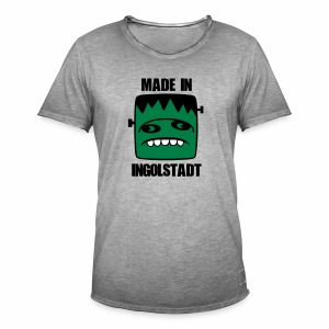 Fonster made in Ingolstadt - Männer Vintage T-Shirt