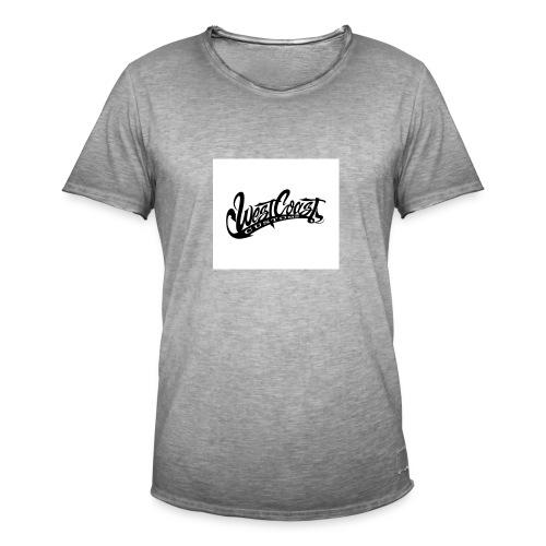 wcc logo black and white - Maglietta vintage da uomo