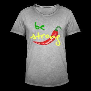 Chilli Collection - Vintage-T-skjorte for menn